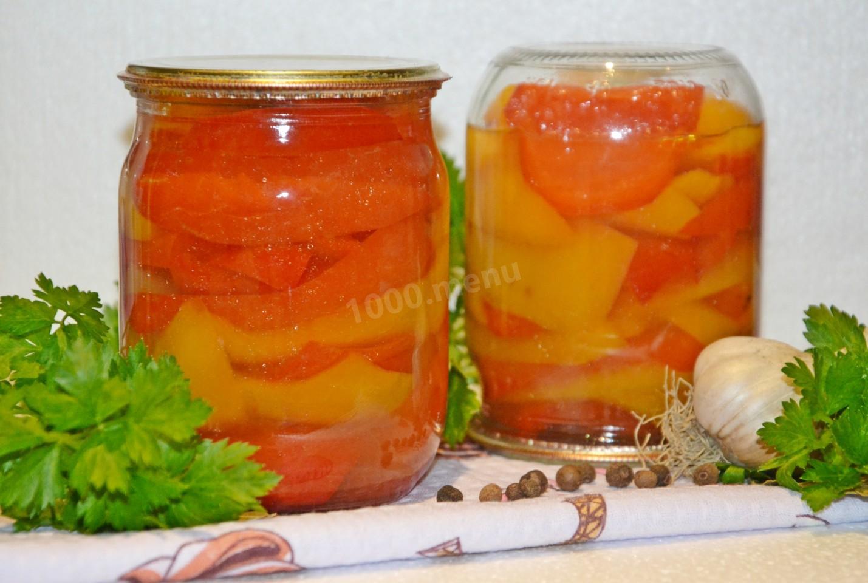 рецепты на зиму маринованный болгарский перец