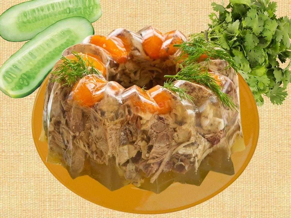 Холодец из свиной рульки: рецепт пошагово 21