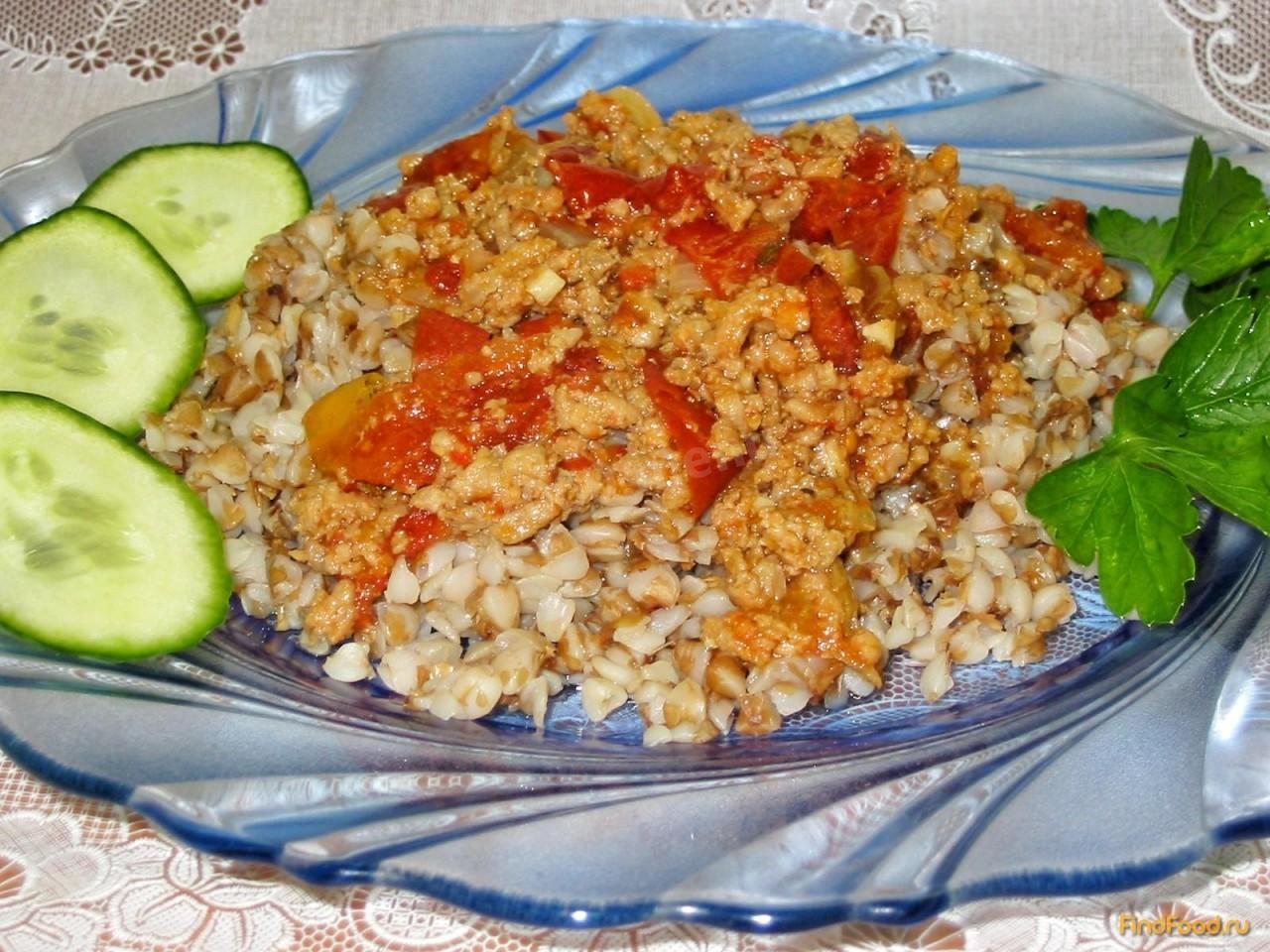 Гречка с мясом и грибами рецепт пошагово