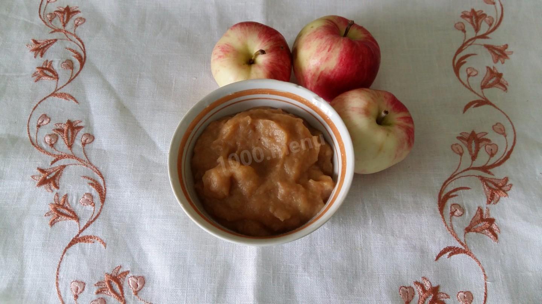 Рецепт пюре из яблок неженка