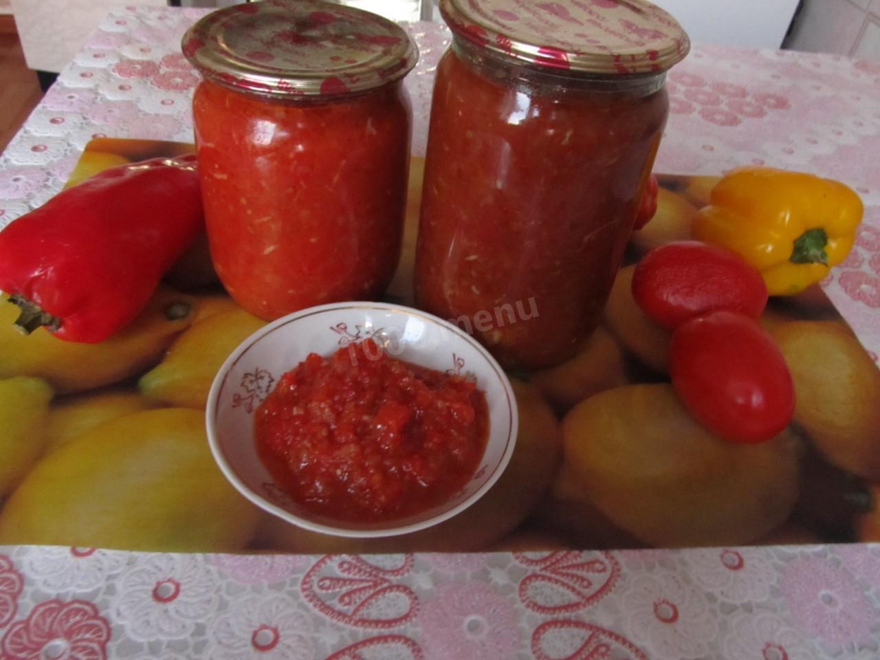 Кетчуп из помидоров на зиму Пальчики оближешь: домашние 84