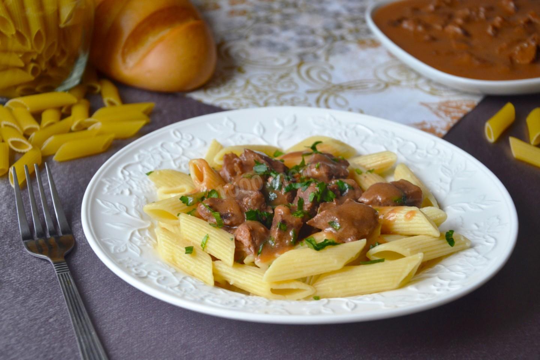 Макароны с мясом как приготовить быстро и вкусно — 1
