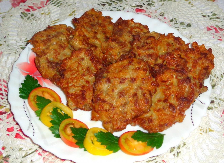 мясные оладьи рецепт
