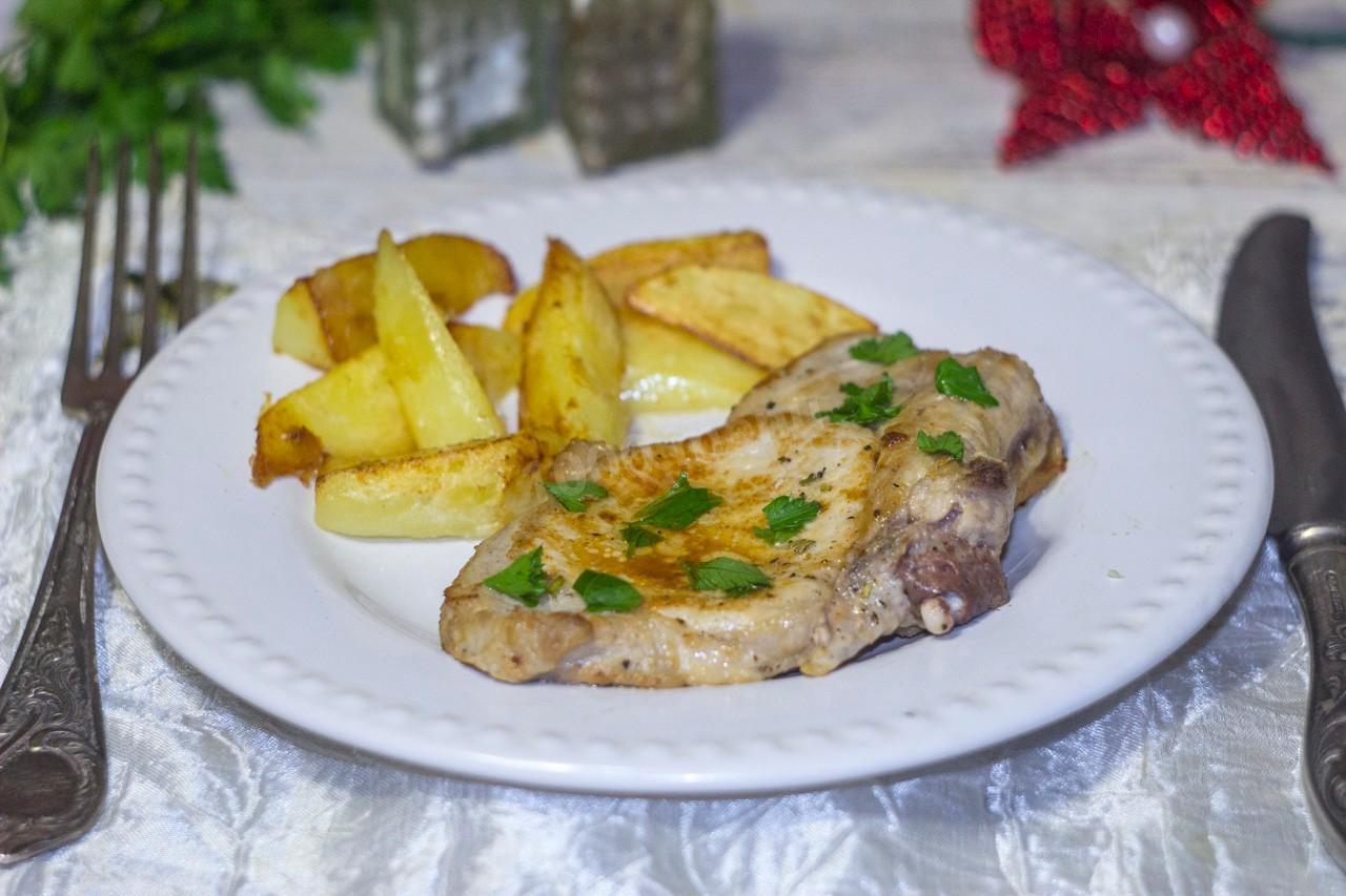 Антрекот из свинины в мультиварке рецепт пошагово 73