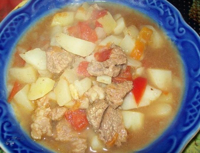 Суп-гуляш пошаговый рецепт с