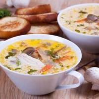 сырный суп с курой рецепты