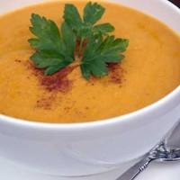 Суп пюре из тыквы с арахисовым маслом