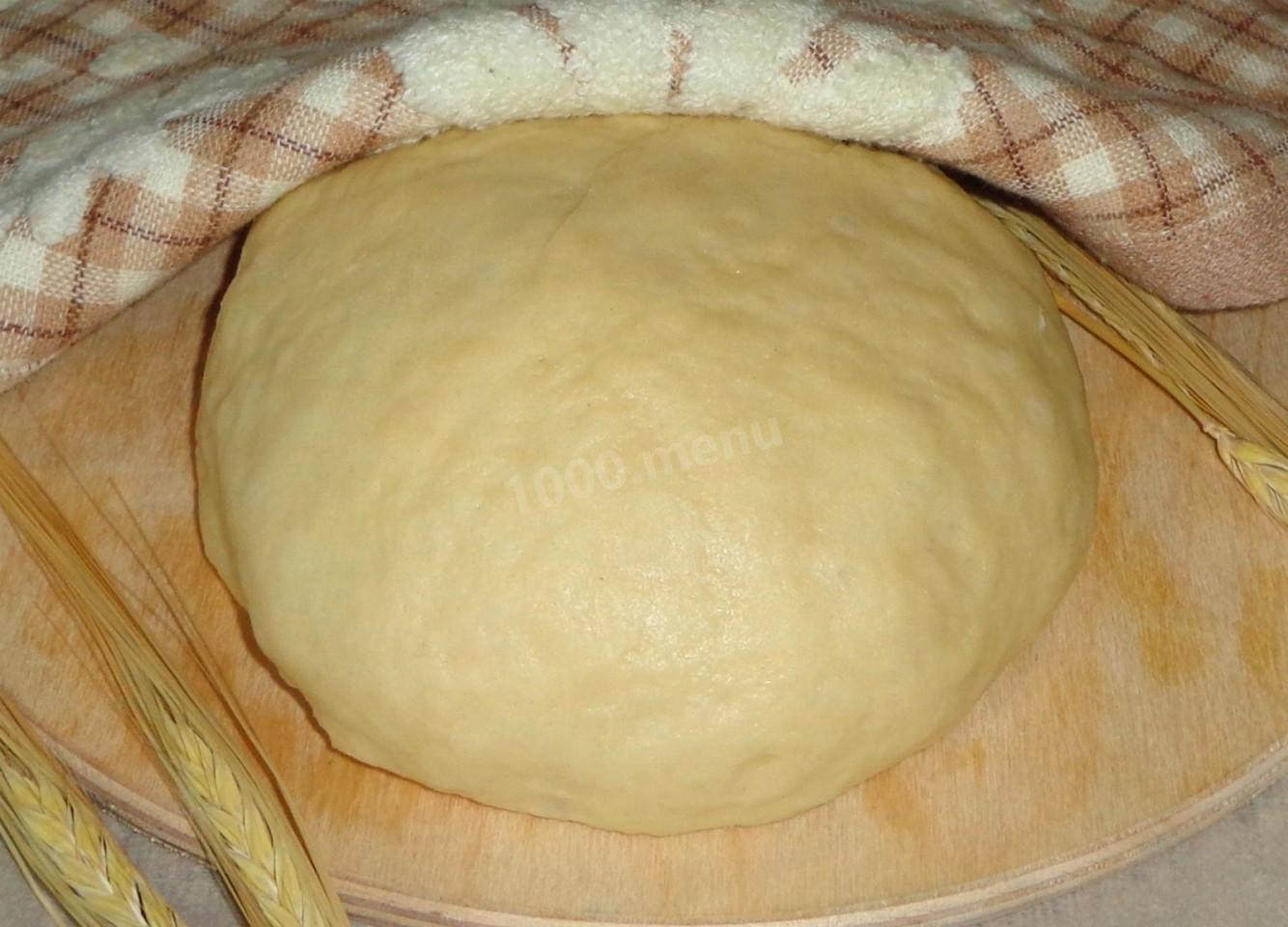 Как сделать тесто на беляши на дрожжах
