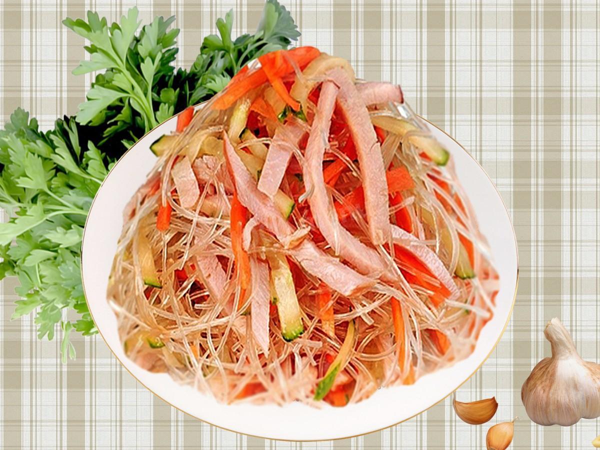 классический рецепт крахмальной лапши с мясом