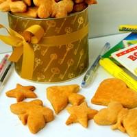 Фигурное печенье песочное для детей