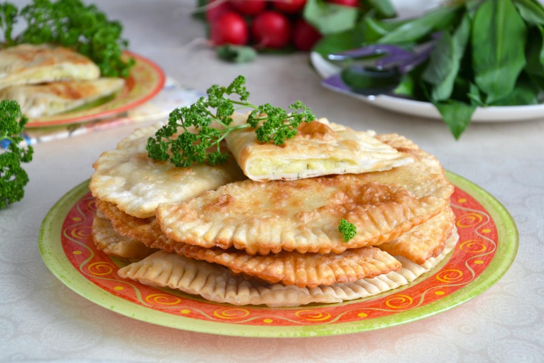 Чебуреки с картошкой рецепт пошагово