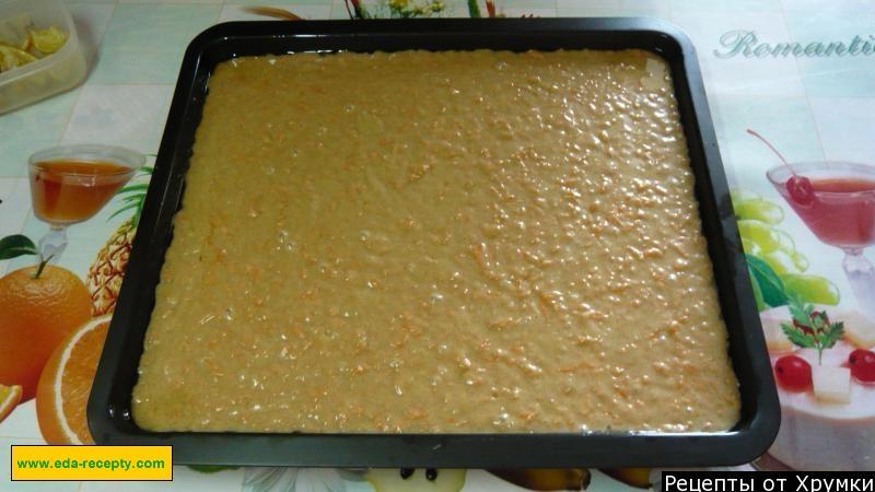 Морковный кекс в рецепт пошагово