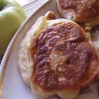 Оладья из яблок