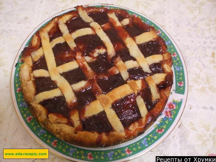 как готовить пирог с вареньем