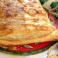 Греческий слоеный пирог с фаршем