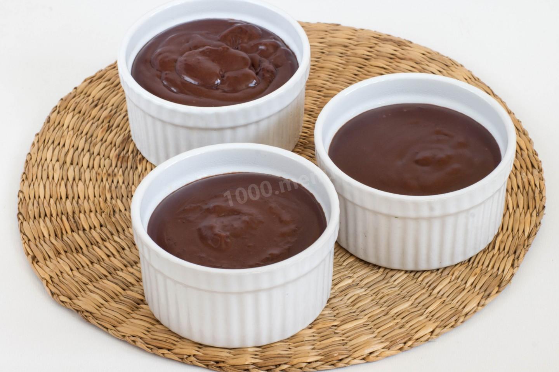 Как сделать пудинг шоколадный фото 569