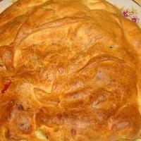 Слоеный пирог с курицей