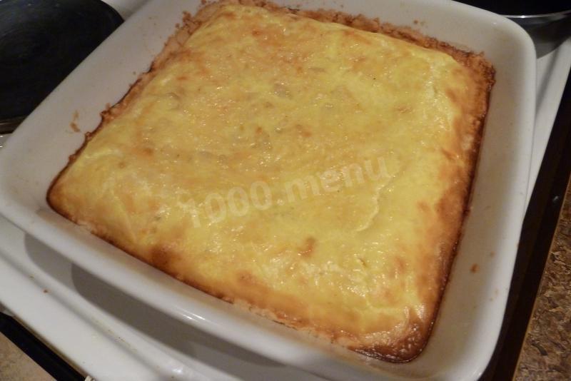 Сырный пирог рецепт с фото пошагово
