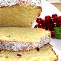Творожный кекс с изюмом Классический