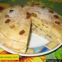 Торт блинный со сгущенкой без выпечки на сковороде