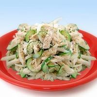 Корейский салат из курицы