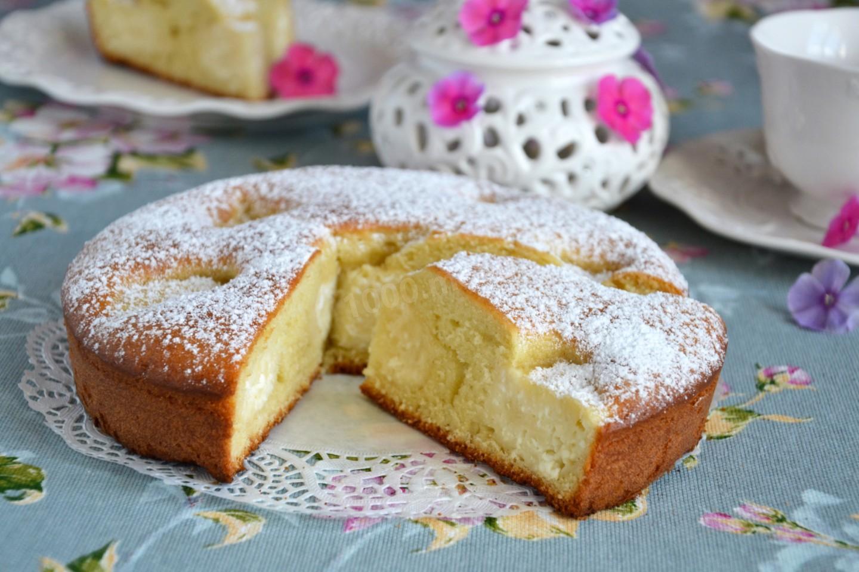 выпечка пирог из творога рецепты с фото