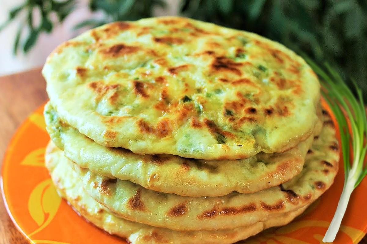 лепешки с сыром и чесноком рецепт