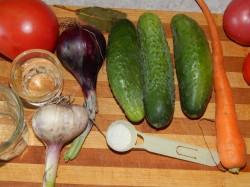 Овощная икра со свежими огурцами - рецепт пошаговый с фото