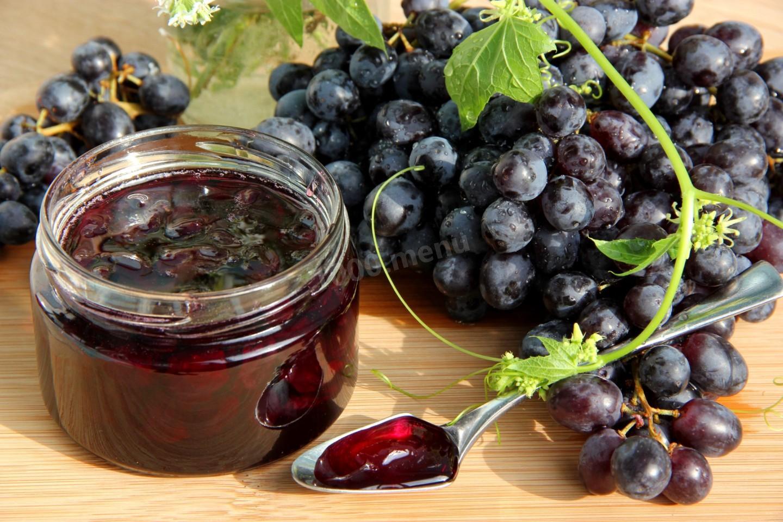 варенье виноград