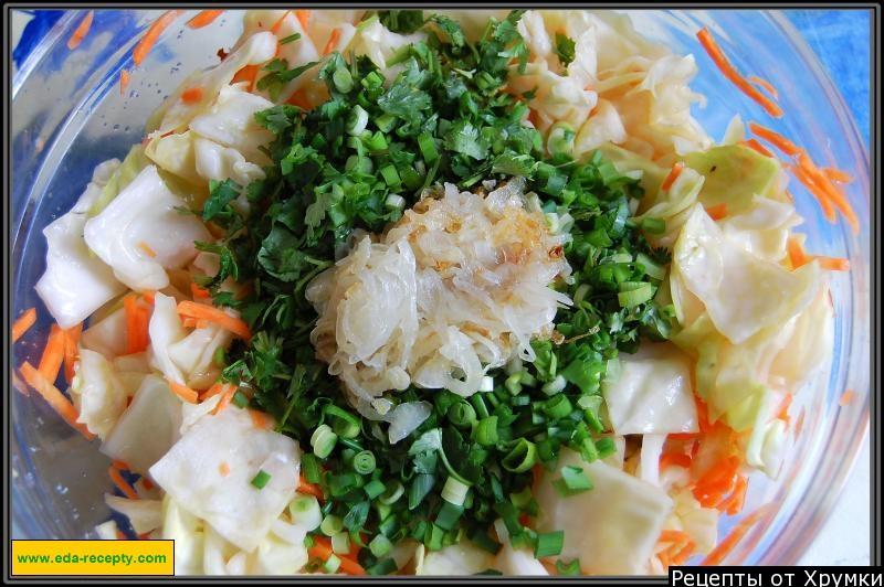 Корейские салаты рецепты с с капусты