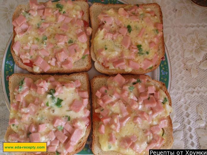 Рецепты бутербродов с фотографиями