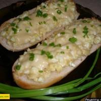 Бутерброды быстро с яйцом и сыром