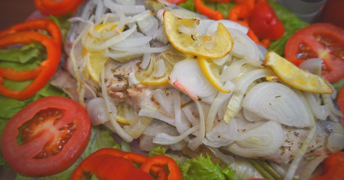 Горбуша фаршированная овощами в духовке рецепт с фото пошагово и видео