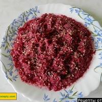Салат свекла чернослив с грецкими орехами
