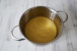 Молочная пшенная каша - рецепт пошаговый с фото