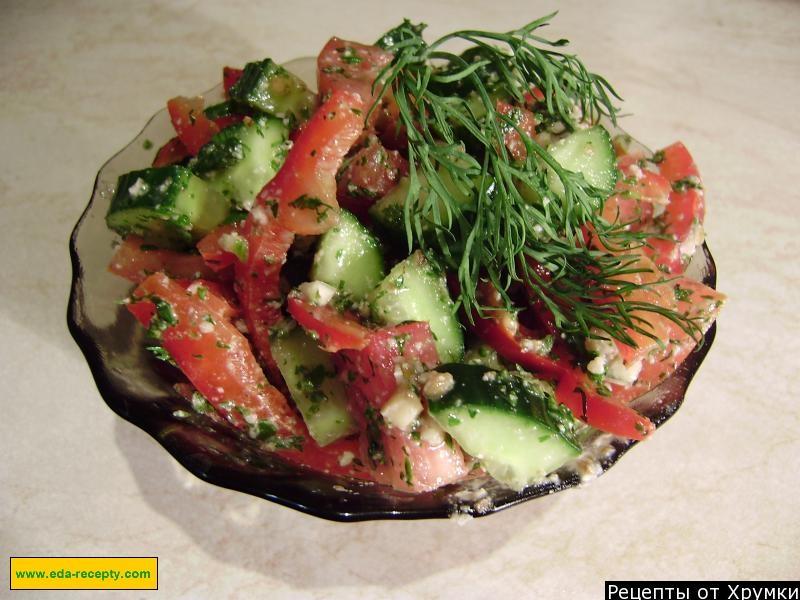 Рецепты салатов из сырых овощей с фото