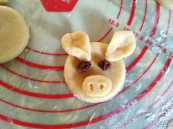 Новогоднее печенье Хрюшки - рецепт пошаговый с фото