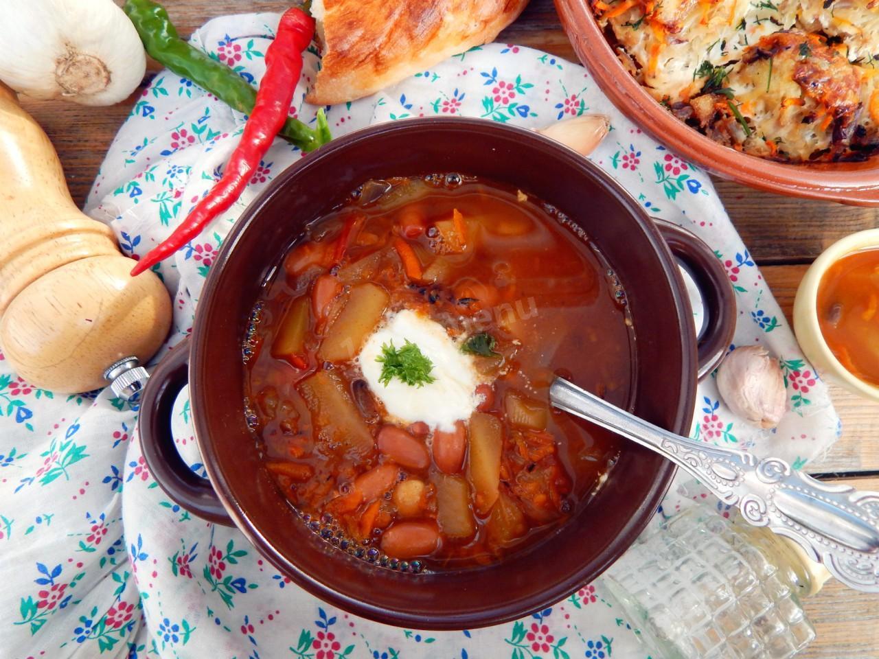Можно ли сварить суп с фасолью в томатном соусе