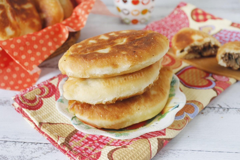 пирожки с печенью рецепт с фото пошагово