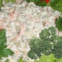 Настоящий классический салат Оливье