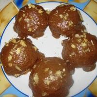 Глазурь для торта с ореховыми шариками