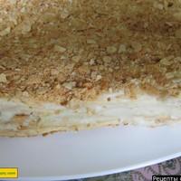 Слоеный торт наполеон Домашний