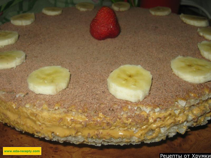 рецепты тортов с фото в домашних условиях со сгущенкой