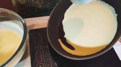 Тесто для блинов на кефире и воде - рецепт пошаговый с фото