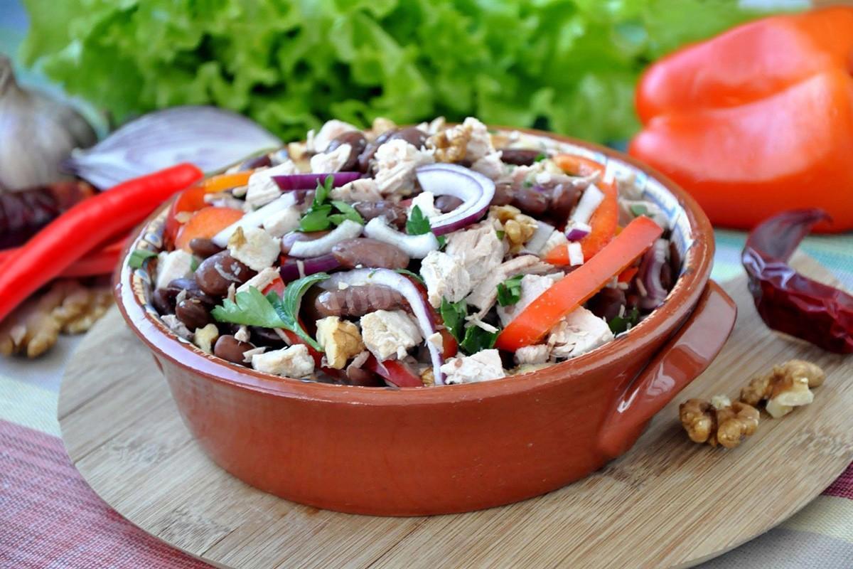 как приготовить салат тбилиси