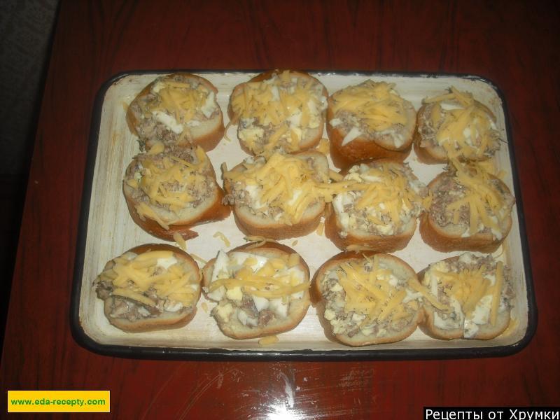 Бутерброды из сайры консервированной рецепты