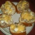 Бутерброды с рыбой консервированной