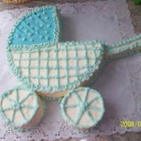 Быстрый тортик Детская коляска