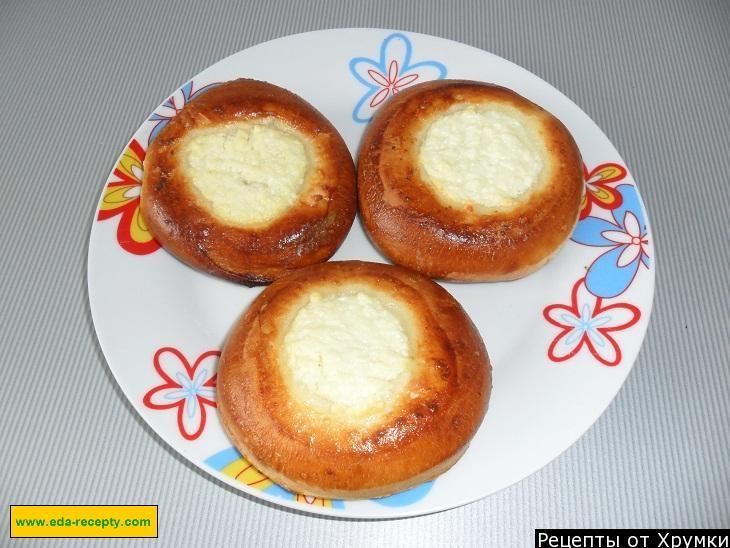рецепт ватрушек с творогом пошаговый рецепт с фото