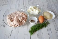 Куриные котлеты с творогом - рецепт пошаговый с фото